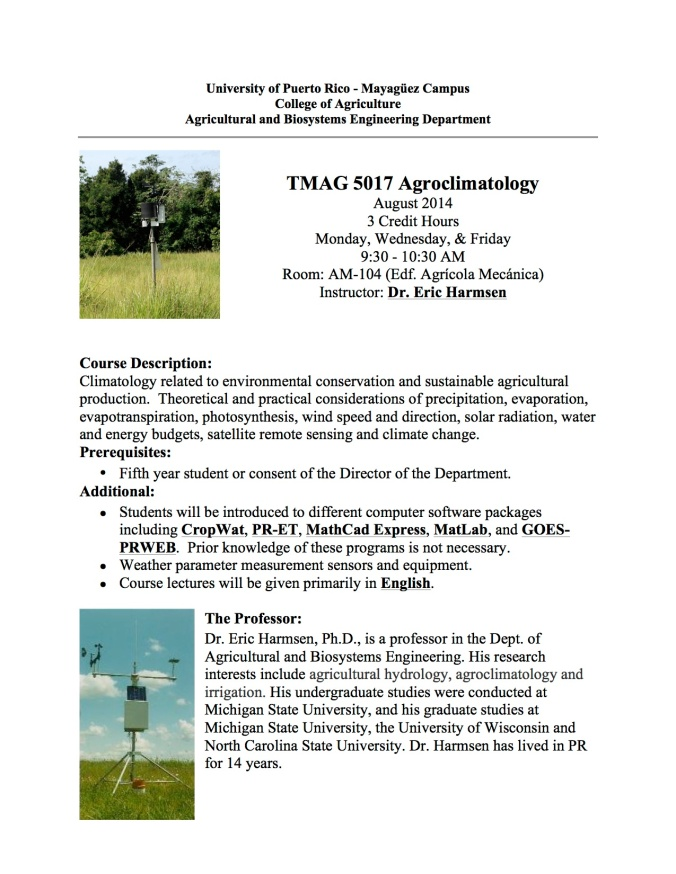 AgroclimatologyFlyer_Fall2014